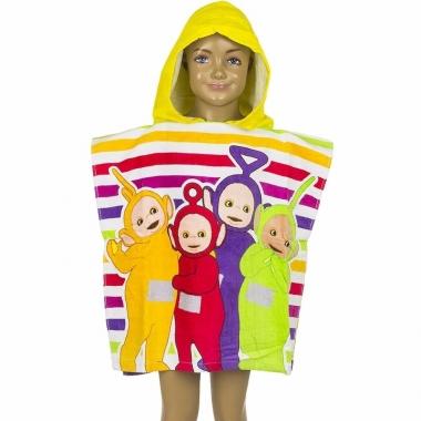 Teletubbies handdoek cape geel