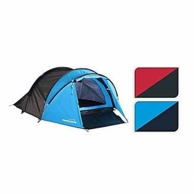Tent rood/zwart 3 persoons