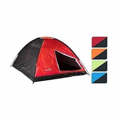 Tent rood/zwart 4 persoons