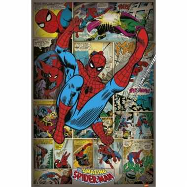 The amazing spiderman poster retro 61 x91,5 cm