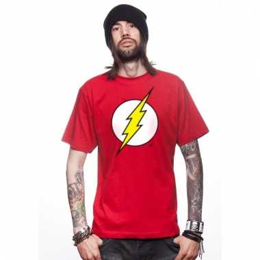 The avengers flash t-shirt rood voor mannen