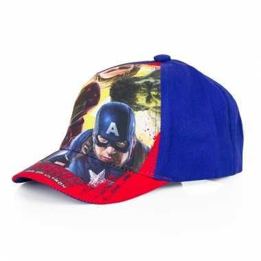 The avengers petje blauw voor jongens