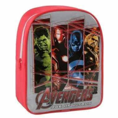 The avengers schooltasje voor kinderen