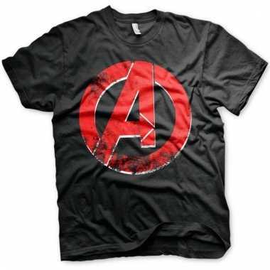 The avengers t-shirt zwart voor mannen