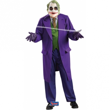 The joker kostuum voor heren