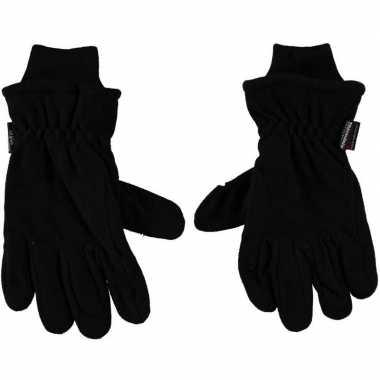 Thermo handschoenen zwart voor heren