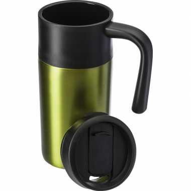 Thermos reisbeker 330 ml licht groen