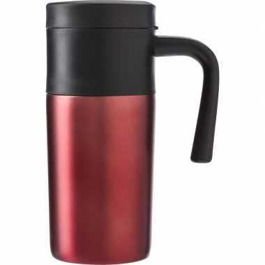 Thermos reisbeker 330 ml rood