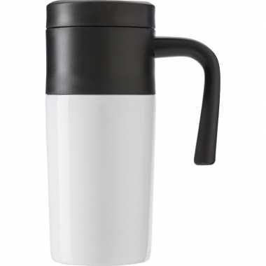 Thermos reisbeker 330 ml wit