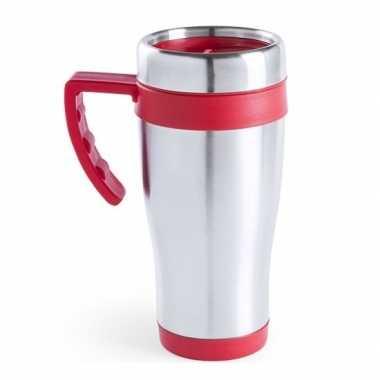 Thermosbeker rood handvat 500 ml