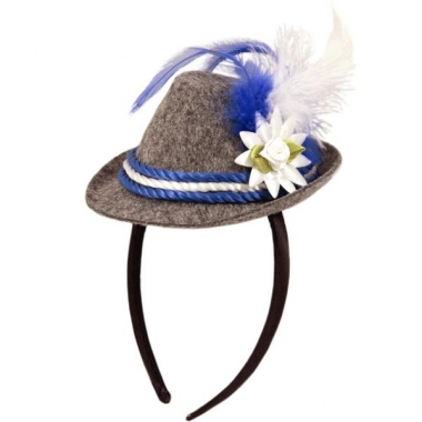 Tiara met oktoberfeest hoedje