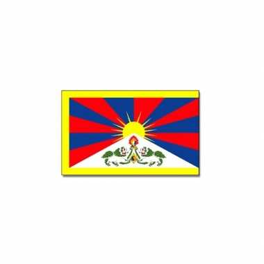 Tibetaanse vlag 90x150 cm