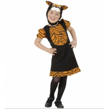 Tijger kostuum voor meisjes