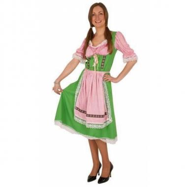 Tirol jurk over de knie