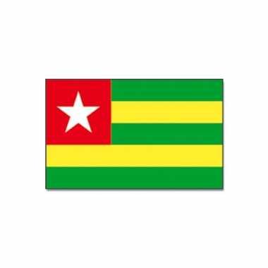 Togolese vlag 90x150 cm
