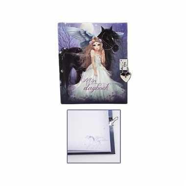 Topmodel fantasy geheimenboek met slotje type 1