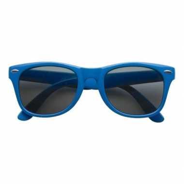Toppers 2019 themafeest zonnebril blauw voor dames/heren
