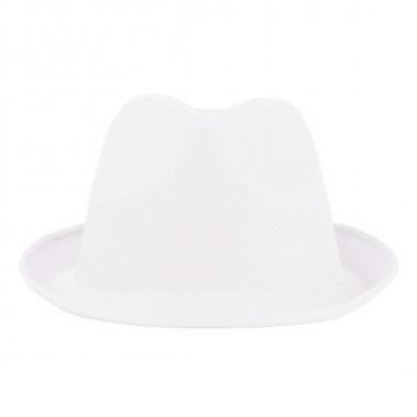 Toppers hoedje wit