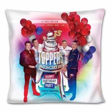 Toppers in concert merchandise kussen