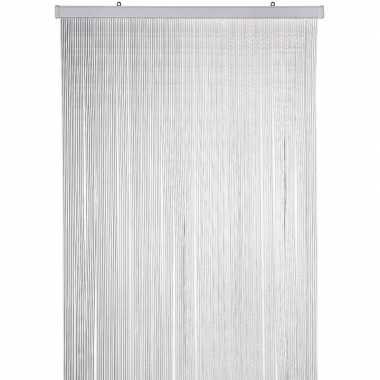 Transparante anti insecten gordijn 90 x 220 cm kunststof