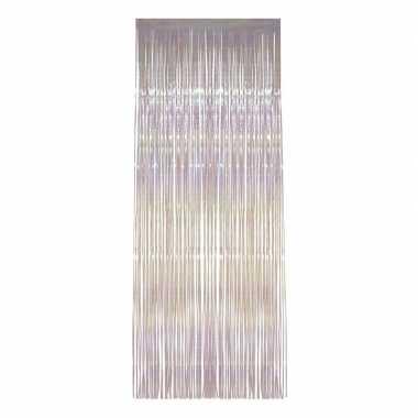 Transparante deur versiering 244cm