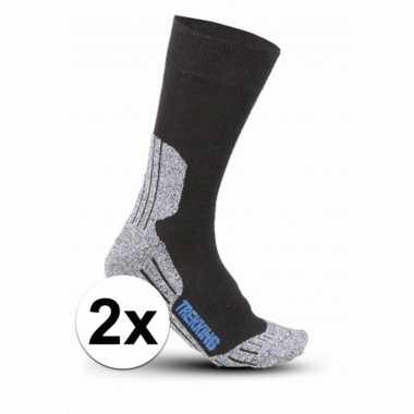 Trekking sokken 2 paar