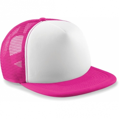 Trendy snapback pet fuchsia