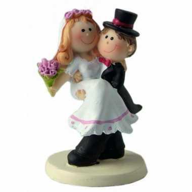 Trouwfiguur bruid en bruidegom