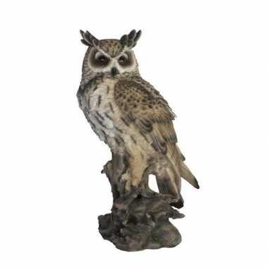 Tuinbeeld oehoe uil 53 cm