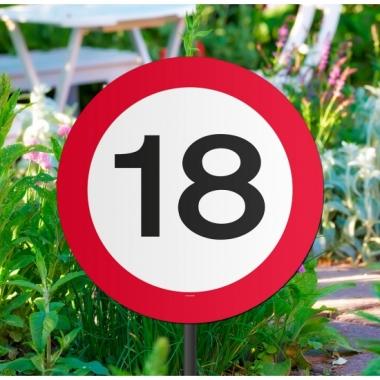 Tuinborden 18 jaar