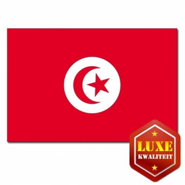 Tunesische vlaggen goede kwaliteit
