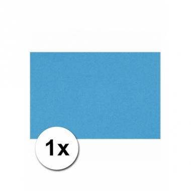 Turquoise blauw kartonnen vel a4
