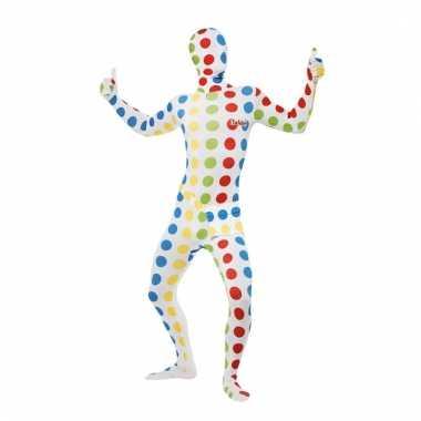 Twister second skin verkleed pak voor volwassenen