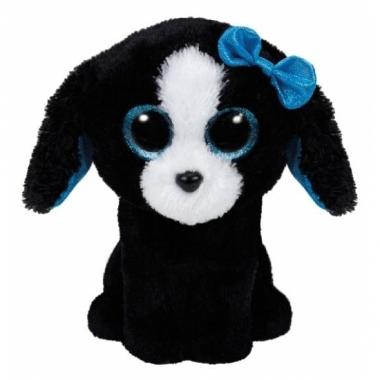 Ty beanie boo pluche hond zwart 15cm