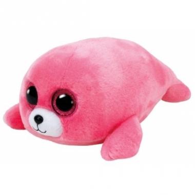 Ty beanie boo's pluche roze zeehond 15cm