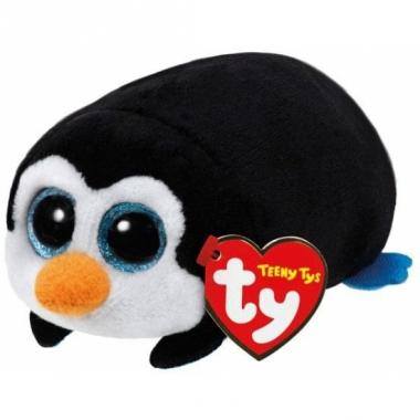 Ty teeny knuffel pockets pinguin 10 cm