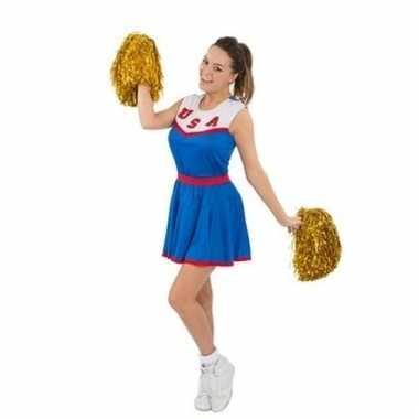 Usa cheerleaders verkleed jurkje voor dames