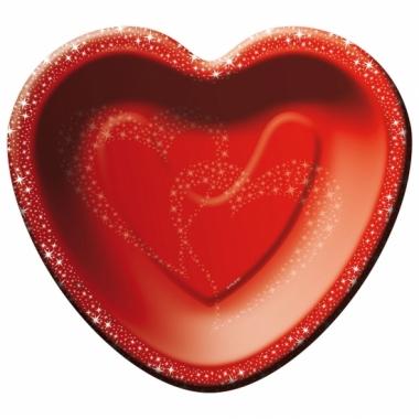 Valentijn feestbordjes 8 stuks