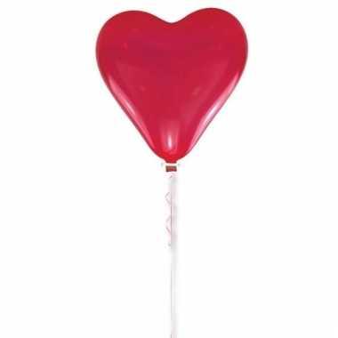 Valentijnsdag ballon rood hart 70 cm