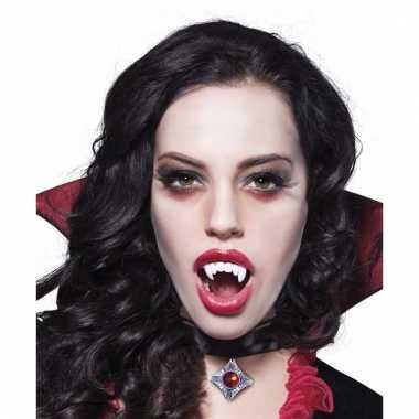 Vampier gebitje verkleedaccessoire voor volwassenen