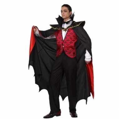 Vampier kostuum met mantel