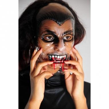 Vampieren masker doorzichtig