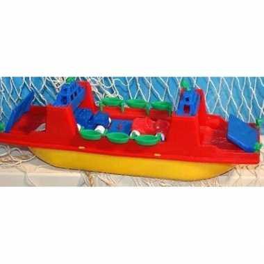 Veerboot speelgoed bootje 31 cm