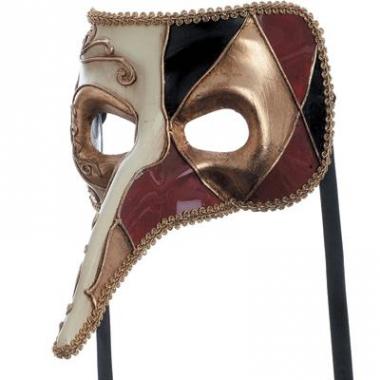 Venetiaans masker van een joker