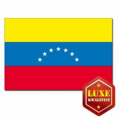 Venezuelaanse vlag luxe kwaliteit