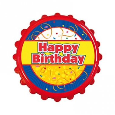 Verjaadag opener happy birthday