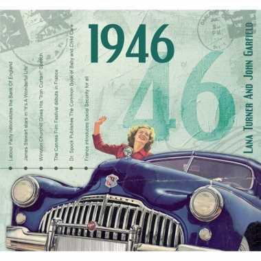 Verjaardag cd-kaart met jaartal 1946