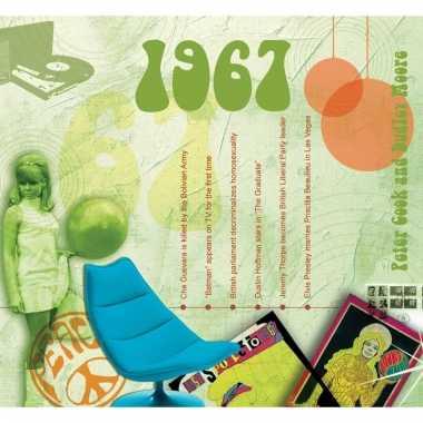 Verjaardag cd-kaart met jaartal 1967