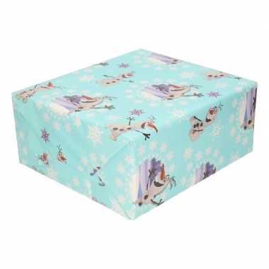 Verjaardag kadopapier disney frozen olaf 200 x 70 cm