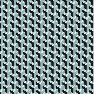 Verjaardag kadopapier zwarte/blauwe grafische print 200 x 70 cm voor